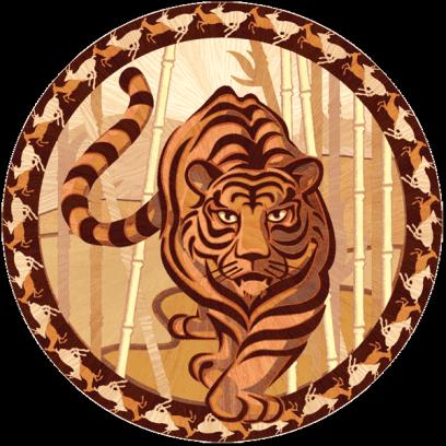 Паркет дворцовый Тигр